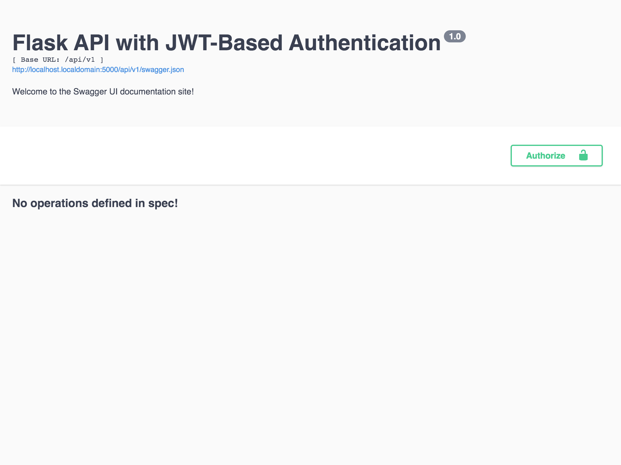 How To: Create a Flask API with JWT-Based Authentication (Part 3)